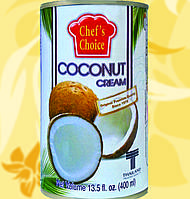 Кокосовые сливки, CHEF'S CHOICE, 400мл, 20%, Gf
