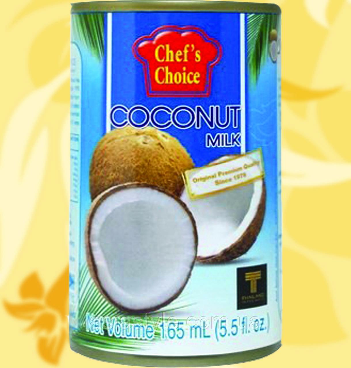 Молоко Кокосове, CHEF'S CHOICE, 165мл, 18%, Gf