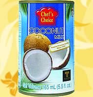 Молоко Кокосове, CHEF'S CHOICE, 165мл, 18%, Gf, фото 1