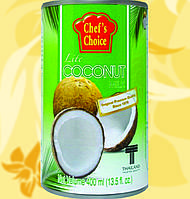 Молоко Кокосове, CHEF'S CHOICE, 400мл, 7,8%, Gf