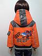 Куртка демисезонная машинка, фото 6