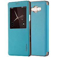 Чехол книжка Rock Uni для Samsung A500H Galaxy A5 Blue