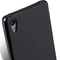 Чехол силиконовый Epik для Sony Xperia Z3 Plus (Dual) Black