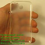 Lenovo A516, белый_силиконовый чохол, фото 4