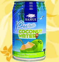 Натуральная кокосовая вода, SAMUI, 320мл, Gf