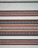 Ткань с вышивкой для скатерти Свитязь ТДК-10 1/1, 1/6 столовый текстиль,ткань с орнаментом,декоратив