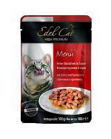 Консервы для кошек Edel Cat pouch печень и кролик в соусе, 100 г