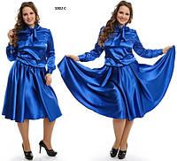 Платье больших размеров 1002 С
