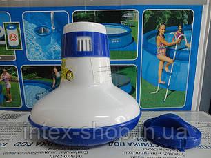 Плавающий раскладной поплавок-дозатор для бассейна МИНИ 1, фото 2