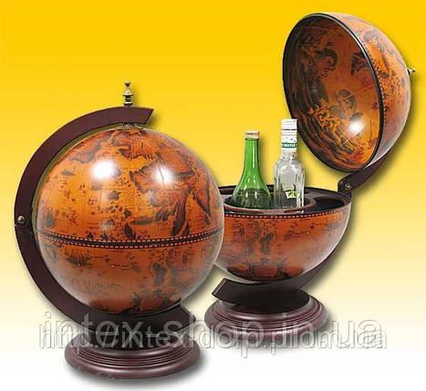 Глобус-бар настольный 33002R. , фото 2