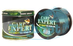 Леска карповая Carp Expert 0.35mm DARK GREEN 1000+200 м