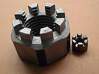 Гайка М4 ГОСТ 5918-70, DIN 935, прорезная и корончатая