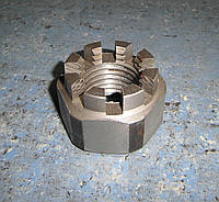 Гайка М8 ГОСТ 5918-73, DIN 935, прорезная и корончатая