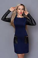 Стильное женское платье из турецкого трикотажа, фото 1