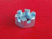 Гайка М18 ГОСТ 5918-73, DIN 935 прорезная и корончатая
