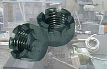 Гайка М20 ГОСТ 5918-73, DIN 935, прорезная и корончатая