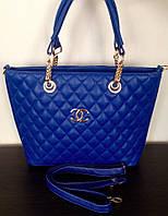 Сумка Chanel синяя, фото 1