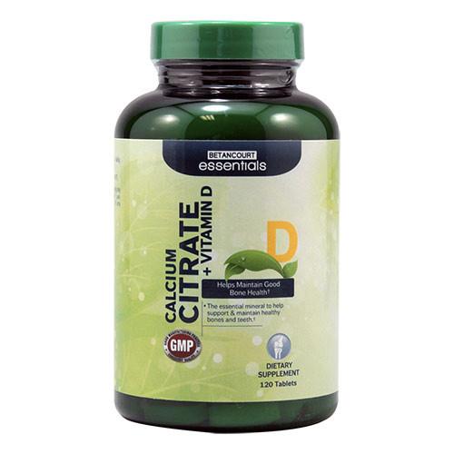 Витаминные и минеральные комплексы Betancourt nutrition Calcium Citrate + Vitamin D 120 tab