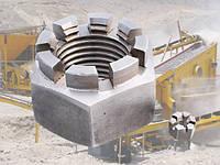 Гайка М39 ГОСТ 5918-73, DIN 935, прорезная и корончатая