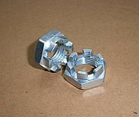 Гайка М16 прорезная и корончатая ГОСТ 5919-73, DIN 937