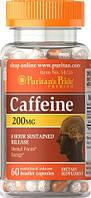 Кофеин Puritans Pride Caffeine 200 mg  60 caps