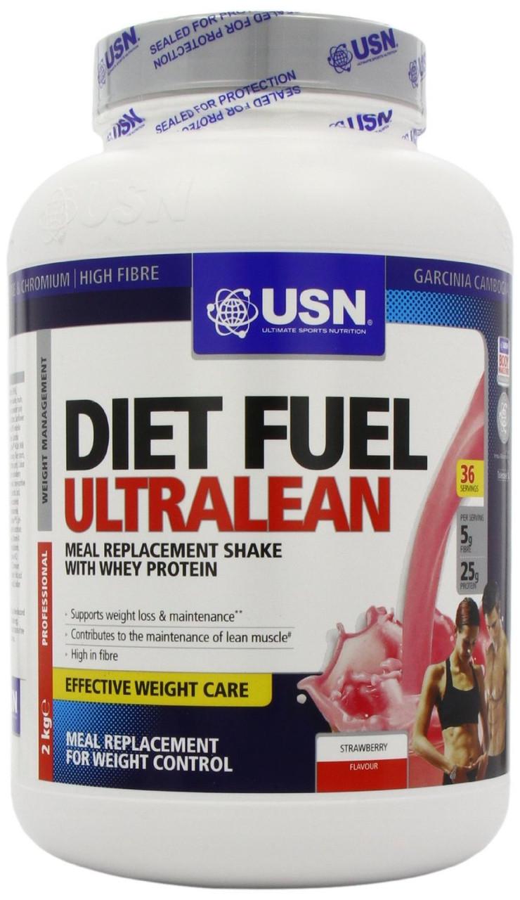 Углеводы, Карбо USN nutrition Diet Fuel Ultralean 2 kg banana caramel