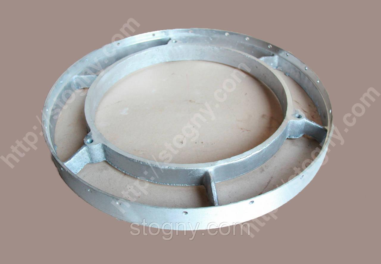 Кільце алюминевое старий ротор 02.133