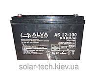 Аккумуляторная батарея ALVA AS12-100 GEL