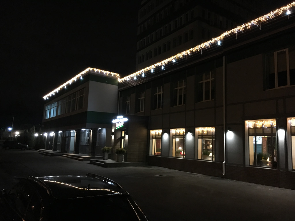 Макет светодиодного оформления ресторана Киев
