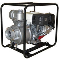 Мотопомпа для чистой воды 100х100мм, 8.0 л.с.,Honda GX240, 1800л/мин, вес 50кг, Daishin SCR-100HX.