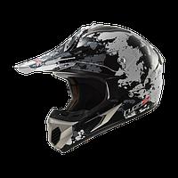 Кросс шлем LS2 MX433 BLAST WHITE TITANIUM размер L