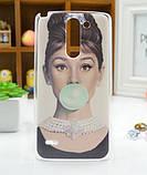Чехол для LG G3 Stylus/D690 панель накладка с рисунком краски, фото 2