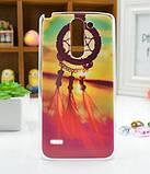 Чехол для LG G3 Stylus/D690 панель накладка с рисунком краски, фото 7