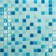 """Микс из стеклянной мозаики Eco-mosaic серии """"Глянец"""" 2х2см MC 155"""