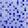 Микс из глянцевой стеклянной мозаики Eco-mosaic 2х2см MC 156