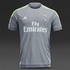 Футбольная форма 2015-2016 Реал Мадрид (Real Madrid), резервная, серая, н3