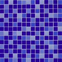 Микс из глянцевой стеклянной мозаики Eco-mosaic 2х2см MC 157