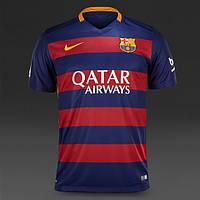 """Футбольная форма 2015-2016 Барселона (Barcelona) """"Messi №10"""", Месси, домашняя, сине-красная, н8"""
