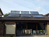 Вакуумные солнечные коллекторы для нагрева воды (комплекты)