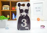 Чехол для LG G3 Stylus/D690 панель накладка с рисунком ромбы, фото 5