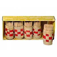 Зубочистки деревянные 150 шт.