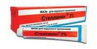 Стелланин мазь лечение трофических язв  3%: туба 20 г