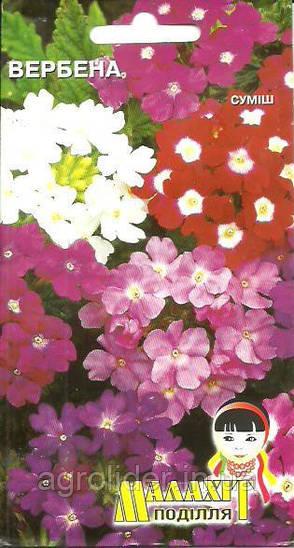 Семена цветов Вербена смесь 0.5г (Малахiт Подiлля)