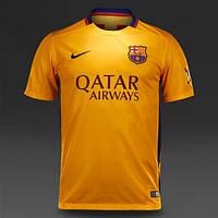 Футбольная форма 2015-2016 Барселона (Barcelona), выездная, желтая, н10