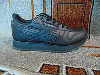 Женские повседневные кроссовки Reebok Classic черные, фото 1