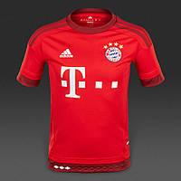 Футбольная форма 2015-2016 Бавария (Bayern), домашняя, красная, н16