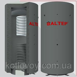 Аккумулирующая ёмкость (теплоаккумулятор) Альтеп 500 л. с изоляцией и  змеевиком