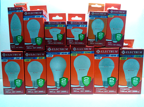 Светодиодные лампы Electrum