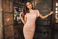 Женское короткое платье с рукавами с разрезом, фото 1