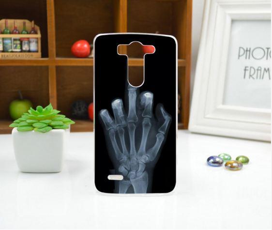 Чехол для LG G3s/D724/G3 mini панель накладка с рисунком рука